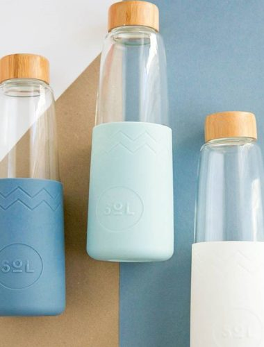 SOL - Glass Cups & Bottles